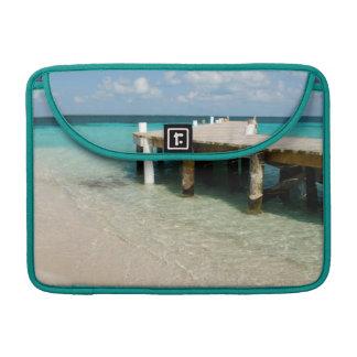Belize, Caribbean Sea, Goff Caye. A Small Island MacBook Pro Sleeve