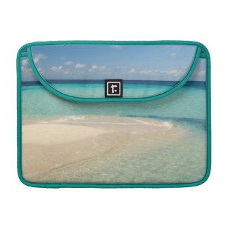 Belize, Caribbean Sea. Goff Caye, A Small Island MacBook Pro Sleeve