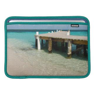 Belize, Caribbean Sea, Goff Caye. A Small Island MacBook Sleeve