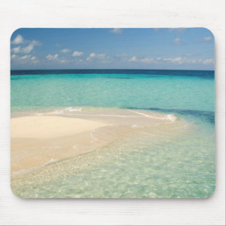 Belize, Caribbean Sea. Goff Caye, A Small Island Mouse Pad
