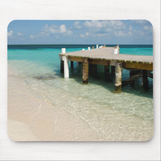 Belize, Caribbean Sea, Goff Caye. A Small Island Mouse Pad