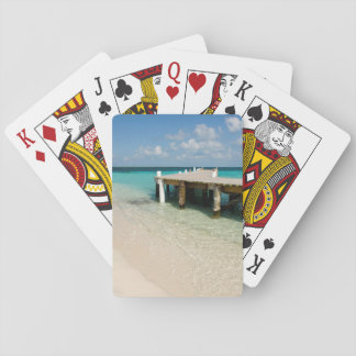 Belize, Caribbean Sea, Goff Caye. A Small Island Playing Cards