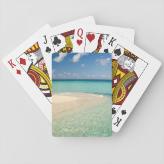 Belize, Caribbean Sea. Goff Caye, A Small Island Playing Cards