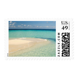 Belize, Caribbean Sea. Goff Caye, A Small Island Postage