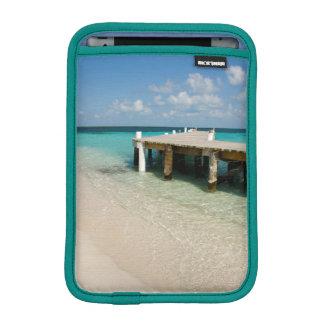 Belize, Caribbean Sea, Goff Caye. A Small Island Sleeve For iPad Mini