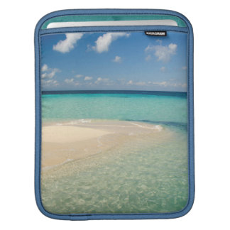 Belize, Caribbean Sea. Goff Caye, A Small Island Sleeve For iPads