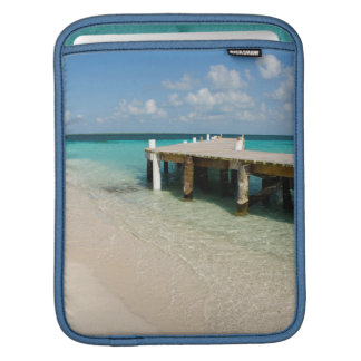 Belize, Caribbean Sea, Goff Caye. A Small Island Sleeve For iPads