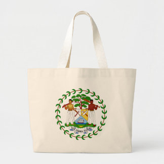 Belize Coat of Arms Canvas Bag
