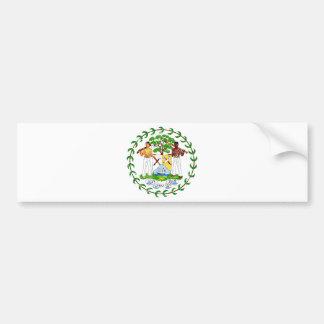 Belize Coat Of Arms Bumper Sticker