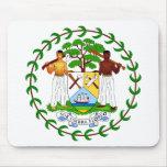 Belize Coat of arms BZ Mouse Mats