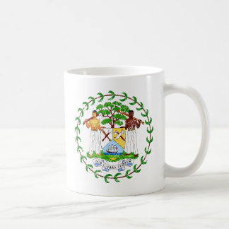 Belize Coat Of Arms Coffee Mug