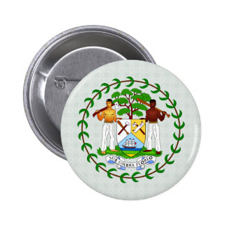 Belize Coat of Arms detail 2 Inch Round Button