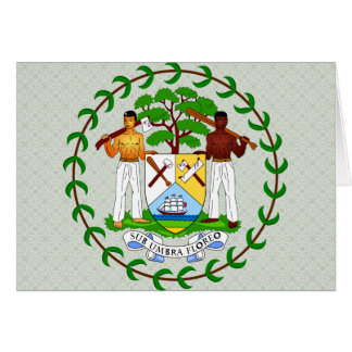 Belize Coat of Arms detail Cards