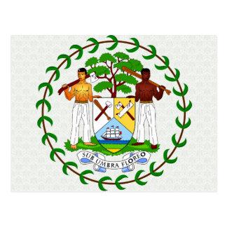 Belize Coat of Arms detail Postcards