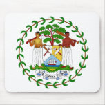 Belize Coat of Arms Mousepad