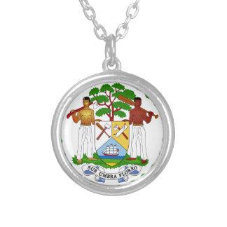 Belize Coat of Arms Custom Jewelry