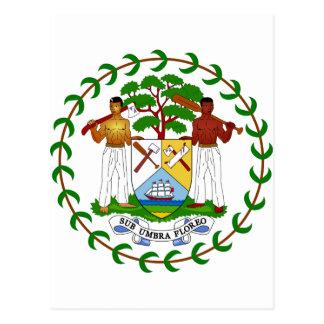 Belize Coat of Arms Postcard