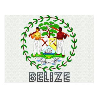 Belize Coat of Arms Postcards