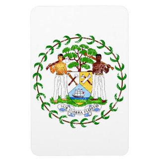 Belize Coat Of Arms Rectangular Photo Magnet