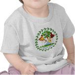 Belize coat of arms shirt