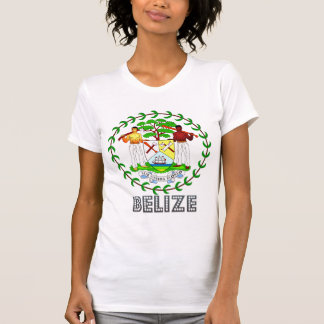 Belize Coat of Arms Tee Shirts