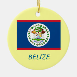 BELIZE* Custom Christmas Ornament