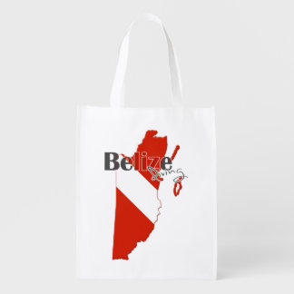 Belize Diving Grocery Bags