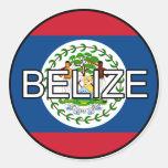 Belize Euro Sticker