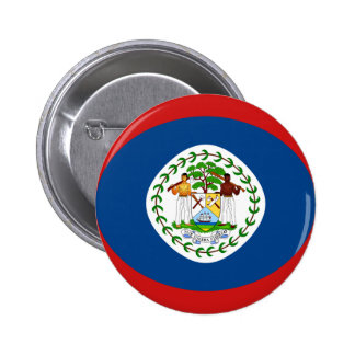 Belize Fisheye Flag Button