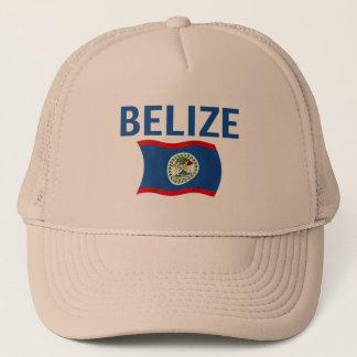 Belize Flag 1 (Wavy) Trucker Hat