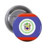Belize Flag 2 Inch Round Button