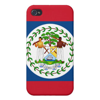 Belize Flag Apple iPhone Case