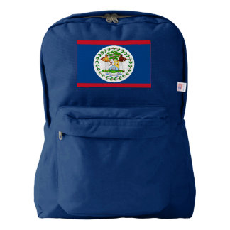 Belize Flag Backpack
