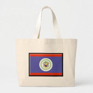 Belize Flag Tote Bag