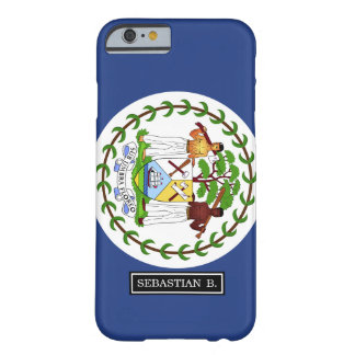 Belize Flag Barely There iPhone 6 Case