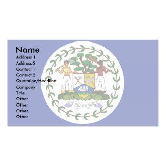 Belize Flag Business Card Template