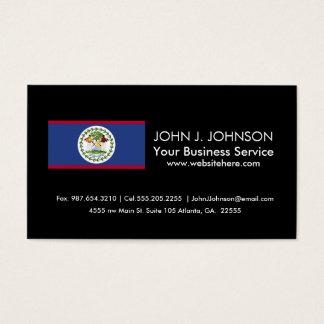 Belize Flag Business Card