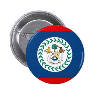 Belize Flag Button