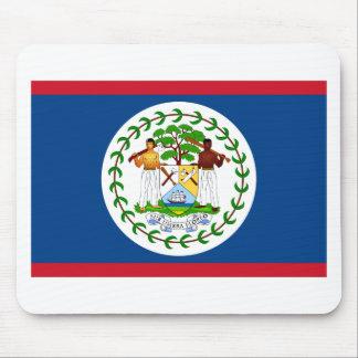 Belize Flag BZ Mouse Pad