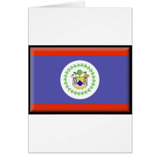 Belize Flag Card