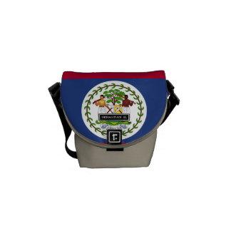 Belize Flag Courier Bag
