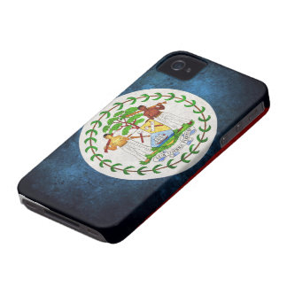 Belize Flag iPhone 4 Case