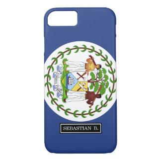 Belize Flag iPhone 7 Case