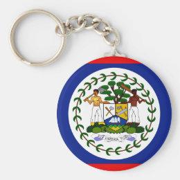 Belize Flag Keychain