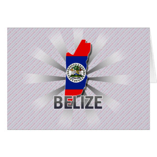 Belize Flag Map 2.0 Cards
