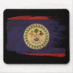 Belize Flag Mouse Pad