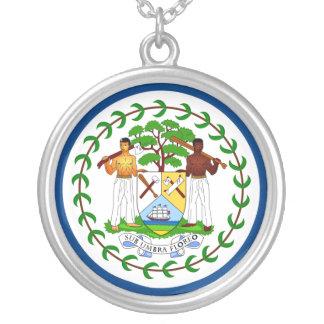 Belize Flag Necklace