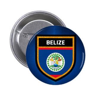 Belize Flag Pinback Button