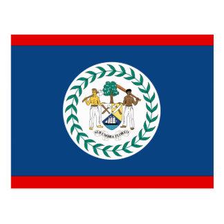 Belize Flag Postcard