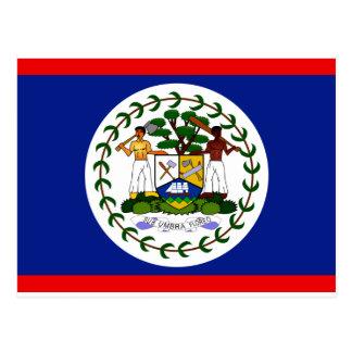 Belize Flag Postcards